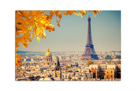 Фотокартина Париж Осенью