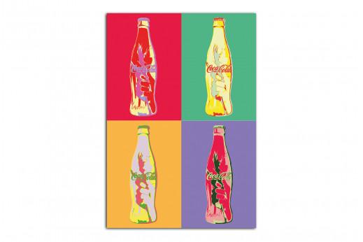 Картина в стиле Поп-арт Coca-Cola