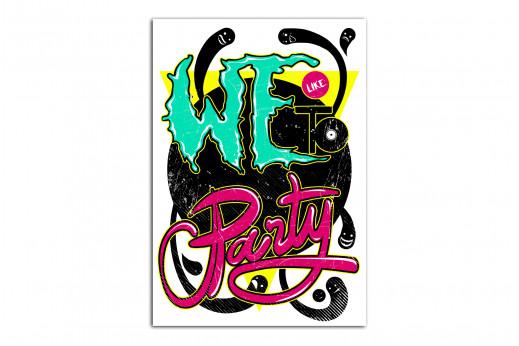 Постер Party