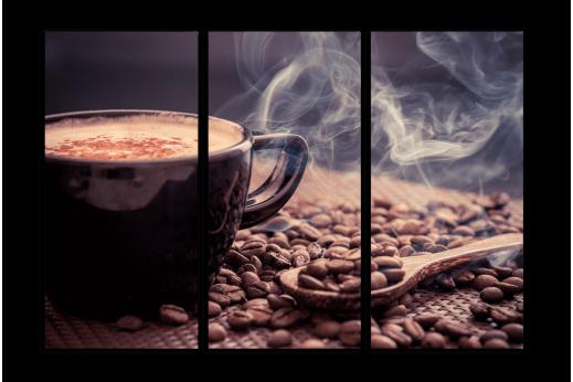 Модульная картина Кофейные ароматы